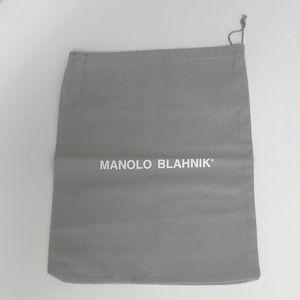 Authentic Manolo Blahnik Shoe Dust Storage Bag